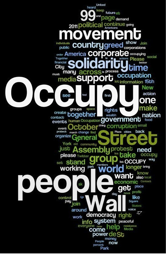 social media and occupy wall street Social movement & social media: a qualitative study of occupy wall street södertörn university | school of culture and communication research report 15 credits.
