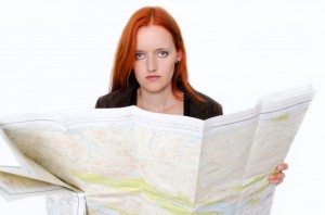 Woman-with-map
